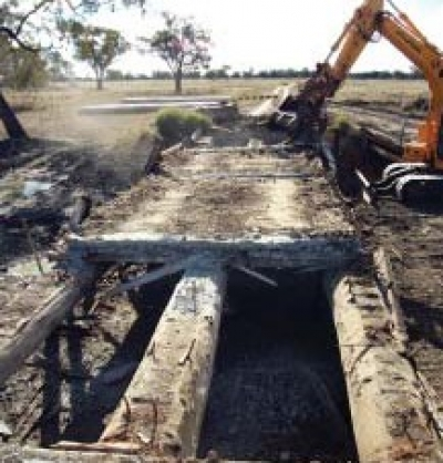 Replacement of Six Bridges, Walgett